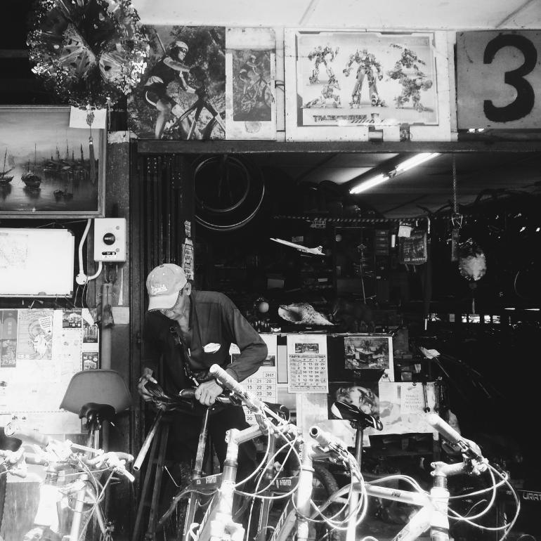 A Bike Rental Shop