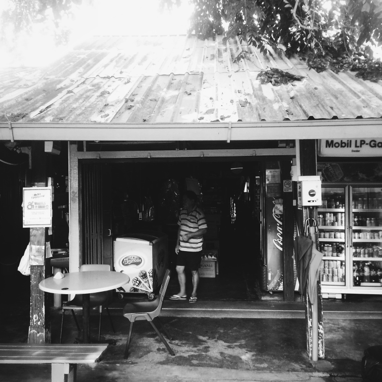 One Of The Drink Stalls In The Main Village
