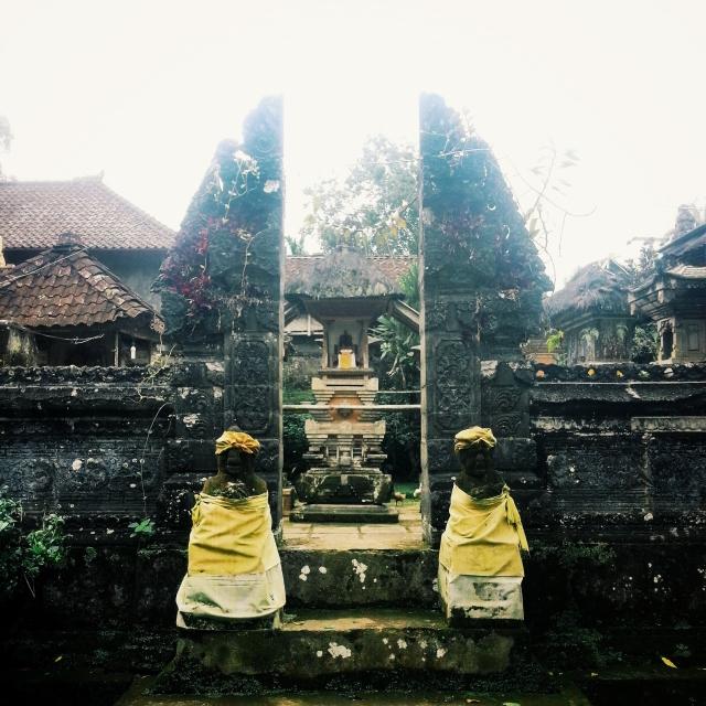 Family praying area