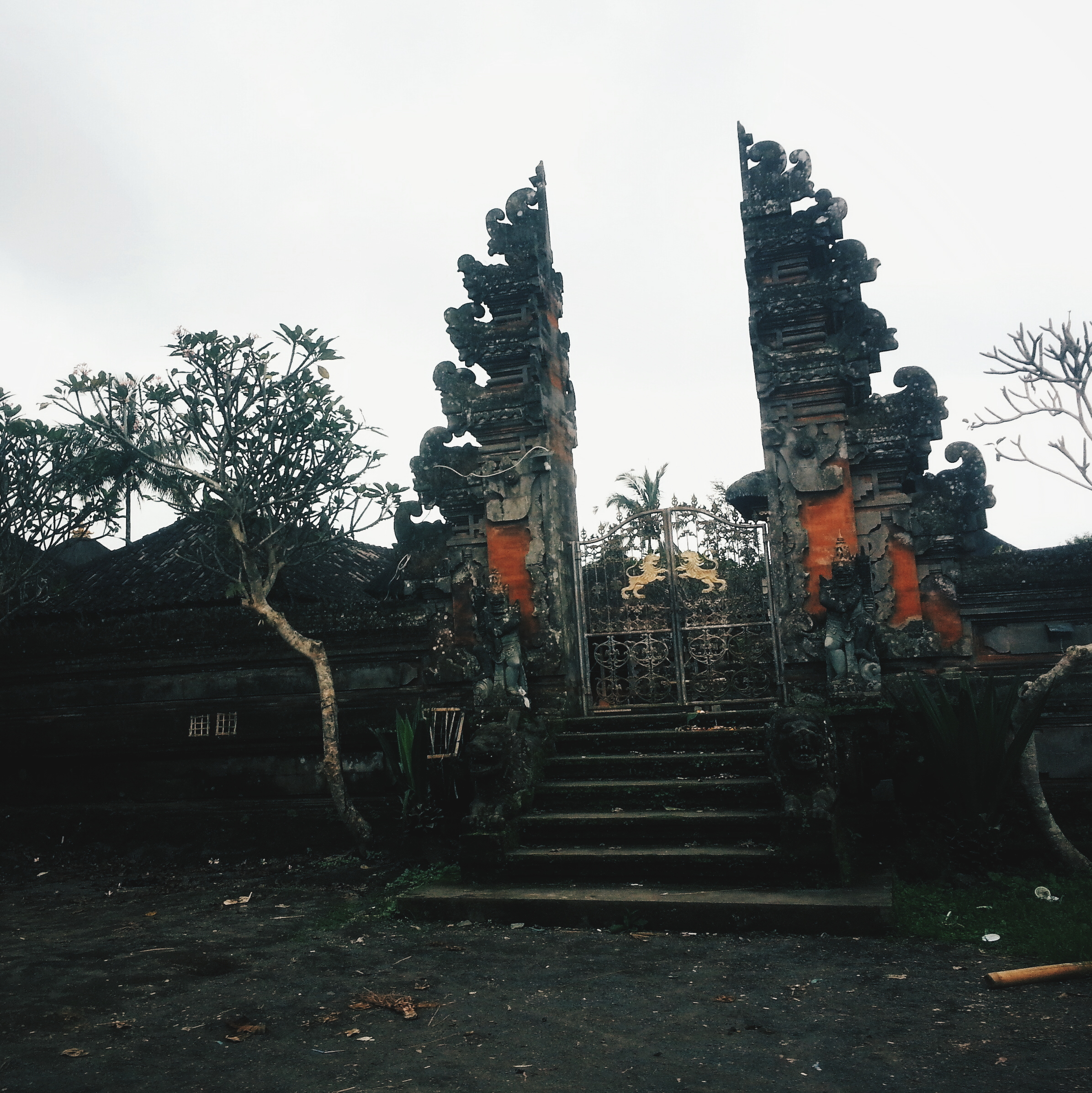 A typical Balinese Hindu temple