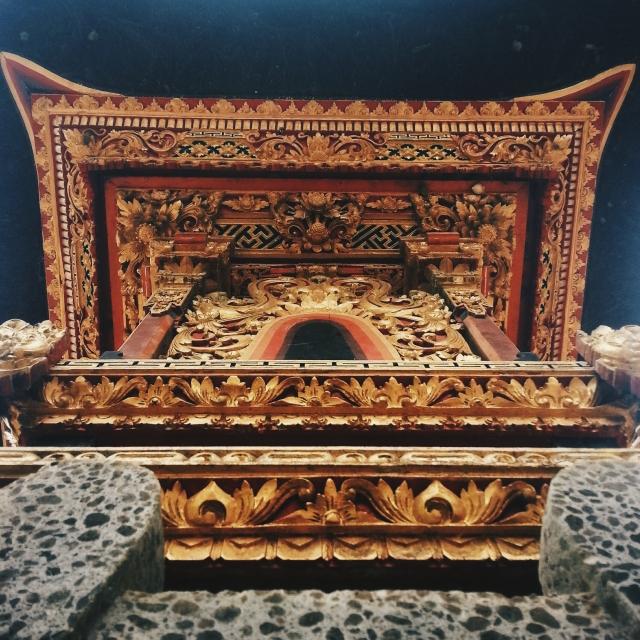 A 'Candi' with beautiful patterns