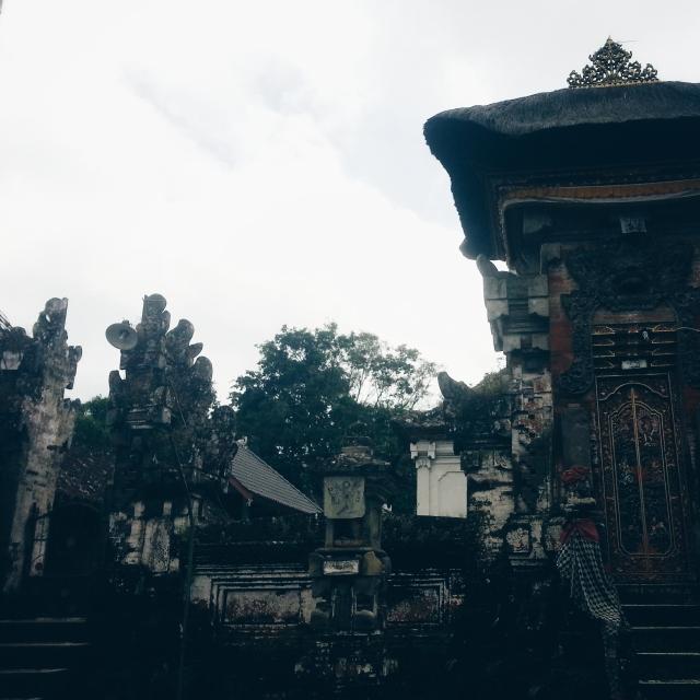 Hindu temple entrance