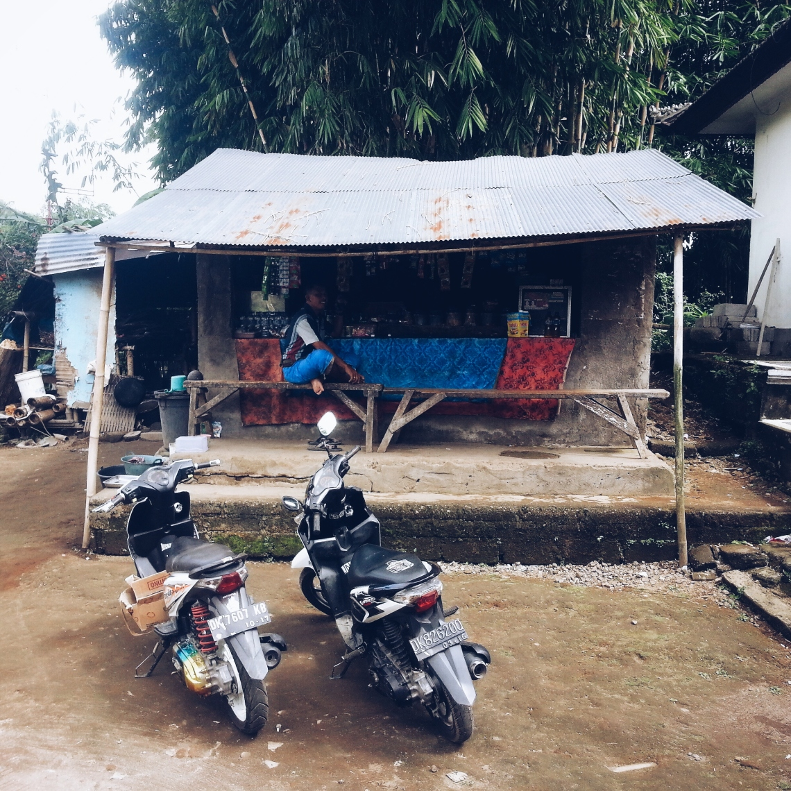 A tuckshop in the village