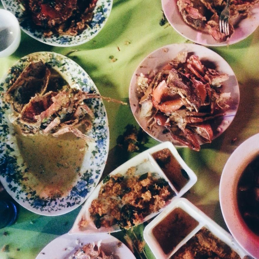 Wide variety of food!