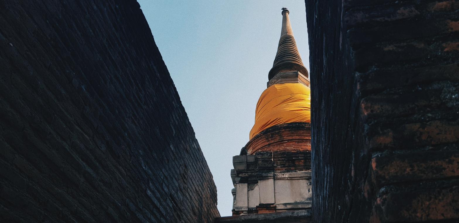 Wat Yai Chaimongkol Temple, Ayutthaya, Thailand